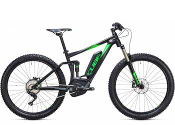 Велосипед Cube STEREO HYBRID 120 HPA Race 500 27,5 (2017)