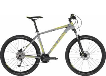 "Велосипед Kellys SPIDER 70 GREY LIME 27.5"" (2020)"